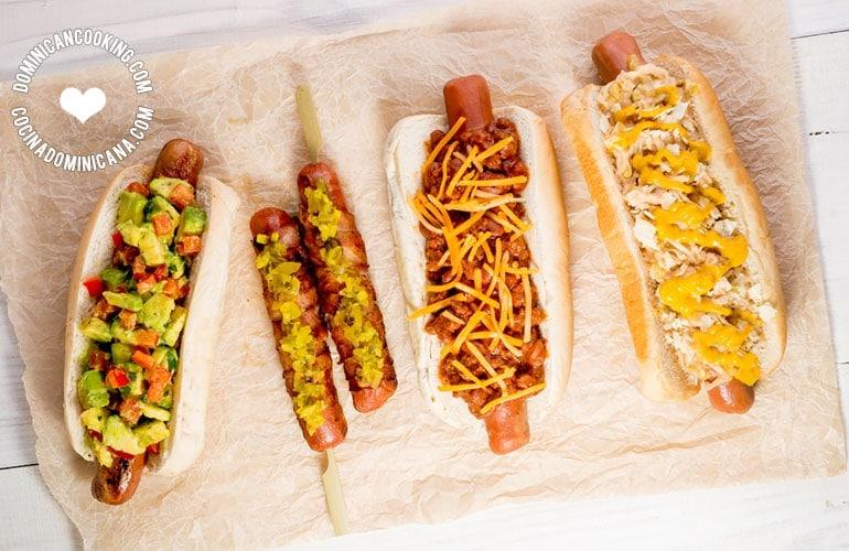 Las mejores recetas de hot dogs