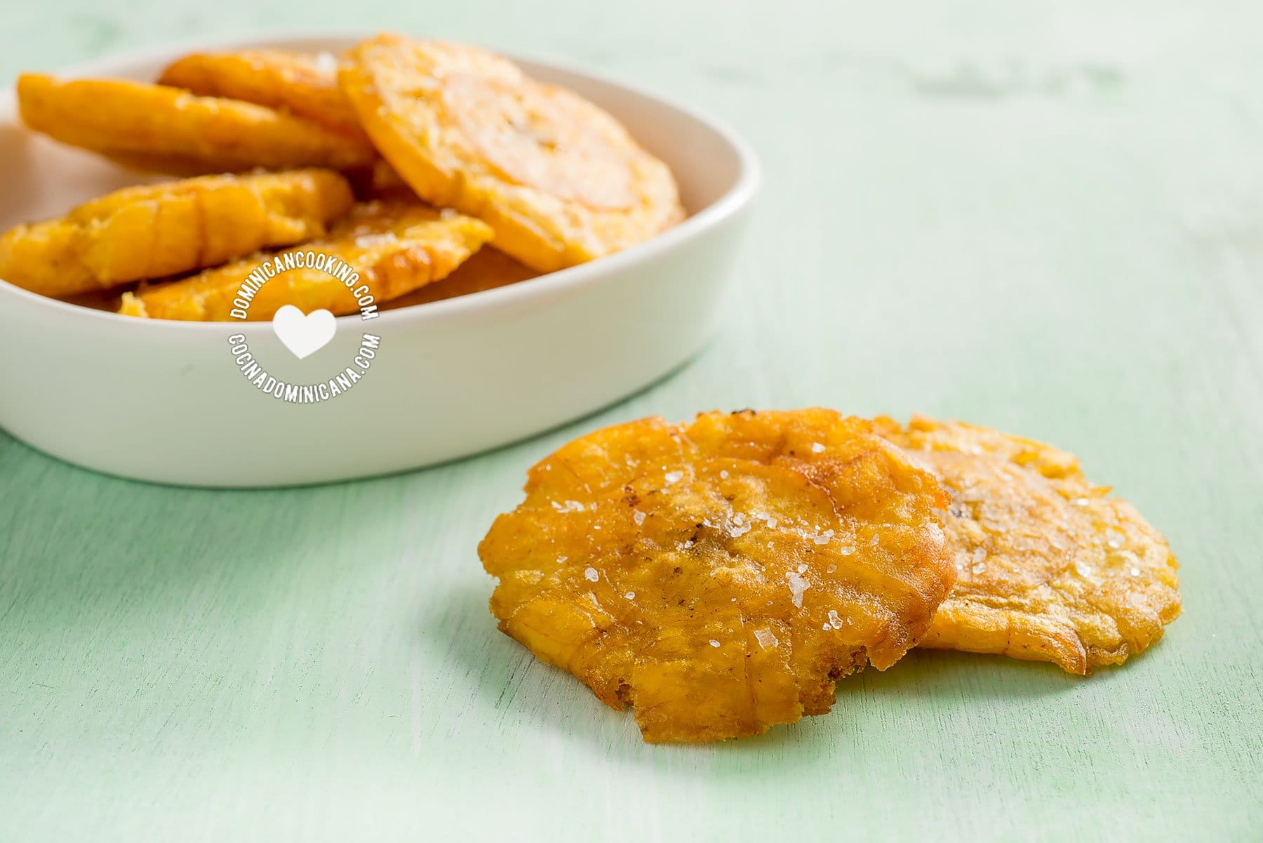 Tostones (Plátanos Fritos)