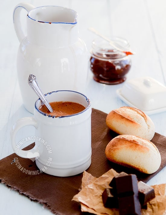 Chocolate de Agua - Receta