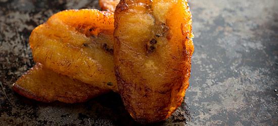 Fritos Maduros - Receta con platano maduro