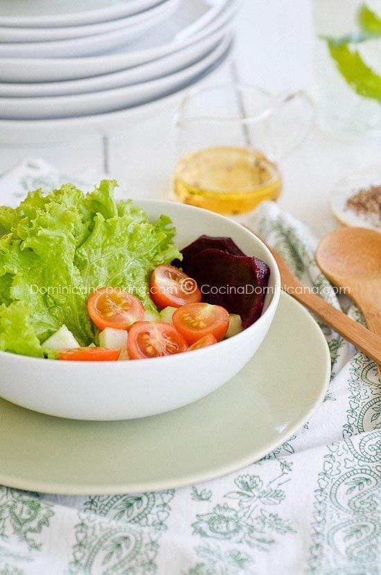 ensaladas verdes sencillas - photo #19
