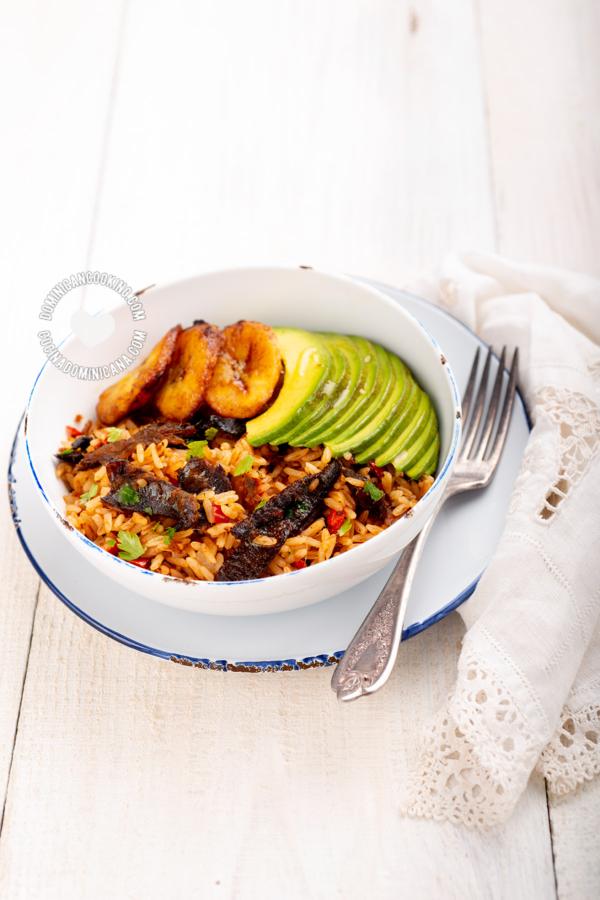 arroz con arenque