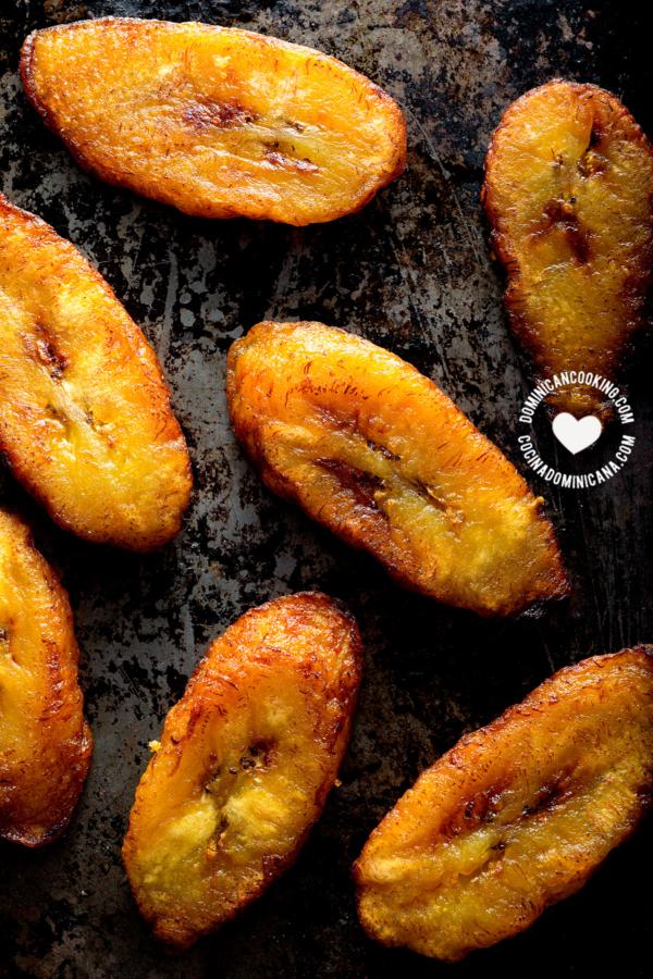 como hacer platanos maduros fritos