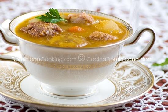 receta sancocho dominicano de siete carnes