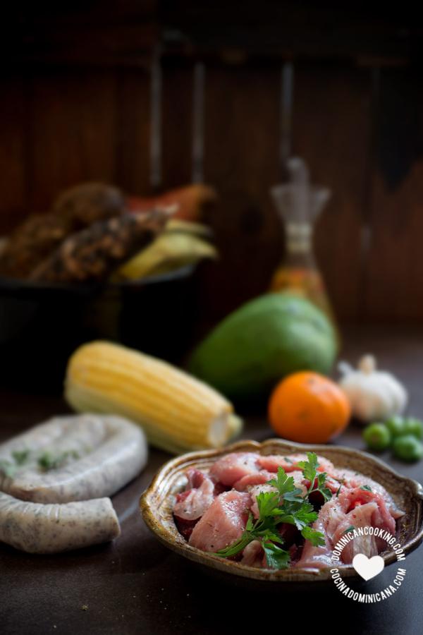 Ingredientes sancocho dominicano