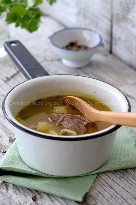 Sopa de Hueso (de Res)