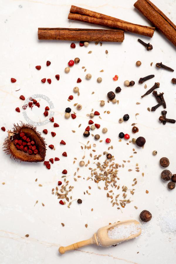 Las Especias en la Cocina Dominicana