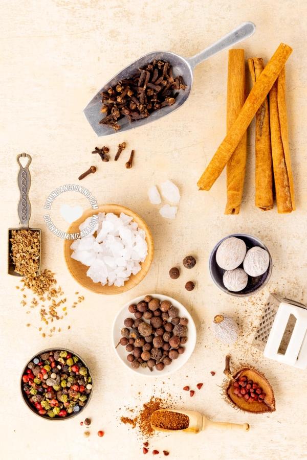 Las Especias de la Cocina Dominicana