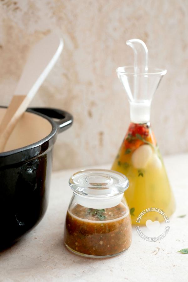 Agrio de Naranja Jars (Dominican Bitter Orange Vinegar)
