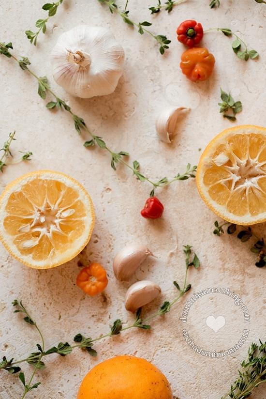 Agrio de Naranja y Salsa Picante de la Tía Clara
