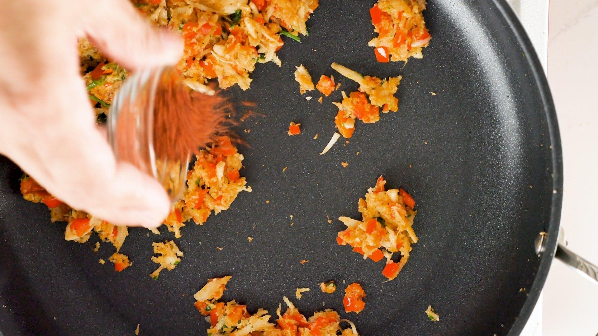 Cocinando el sazón