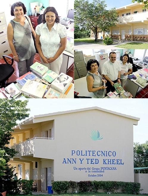 Dar es más que un deber, es un privilegio. La semana pasada tuvimos el privilegio de que el Politécnico de Verón aceptó nuestra donación a su biblioteca.