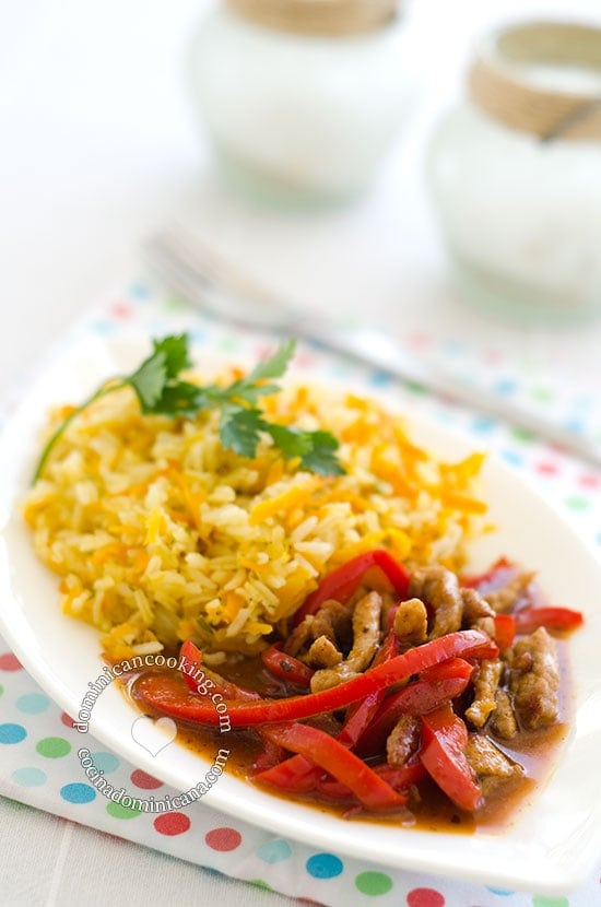 Spicy Beef with Peppers and Orange Recipe