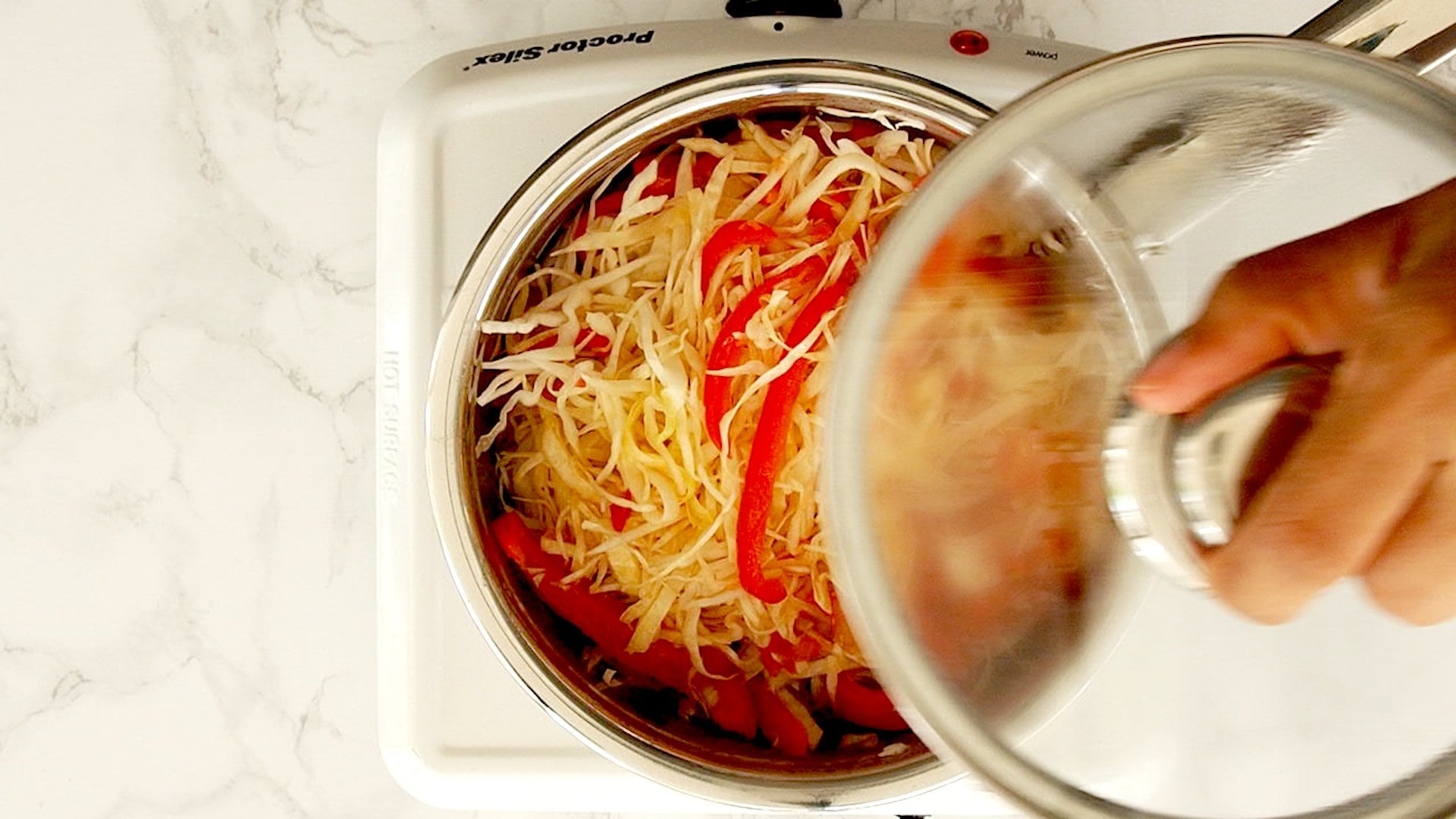 Cocinando repollo