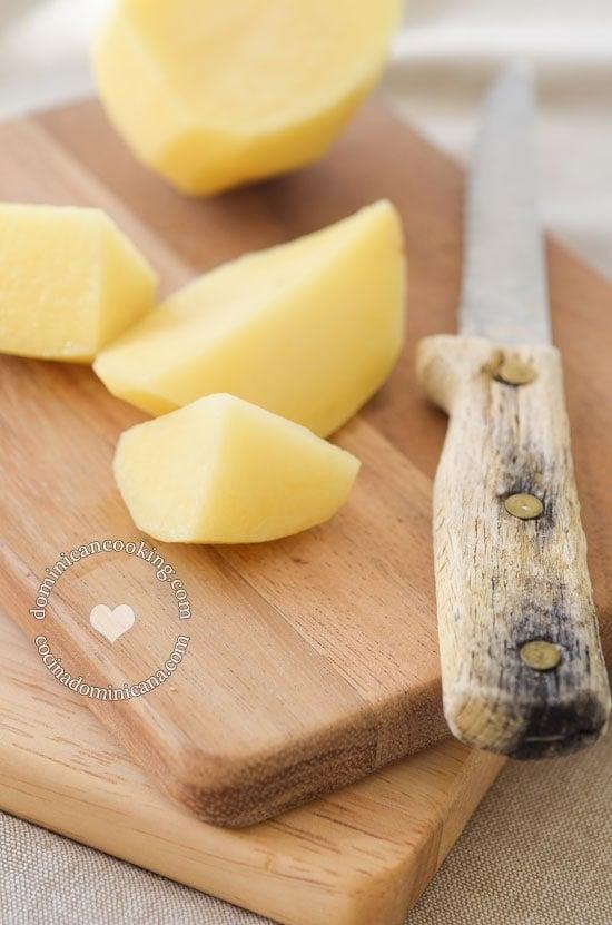 Ingredientes de Caldo de Mondongo