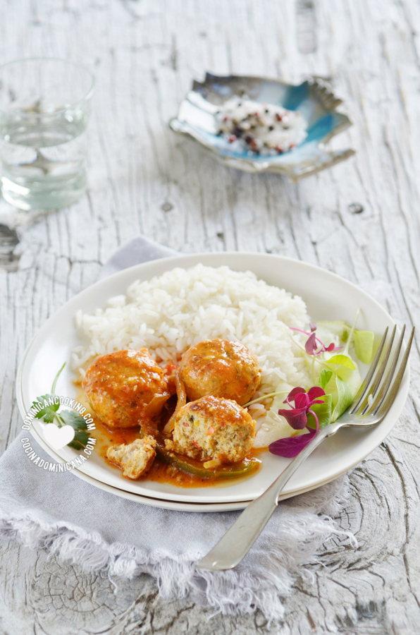 Albóndigas de pescado receta