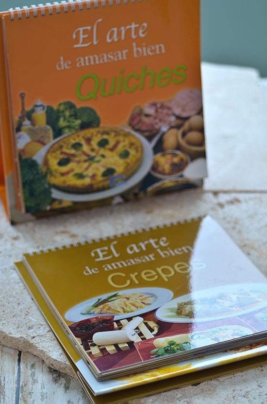 2 libros de cocina