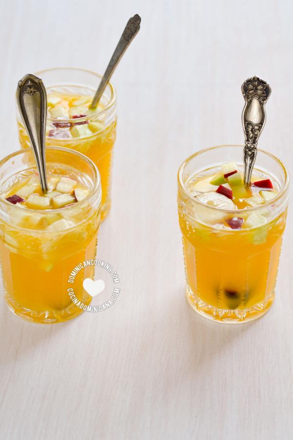 Ponche de Frutas (Coctel de Frutas)