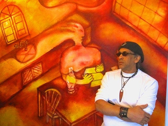 Mi comida dominicana: German Pérez - Artista plástico, músico