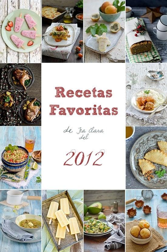 12 recetas favoritas del 2012