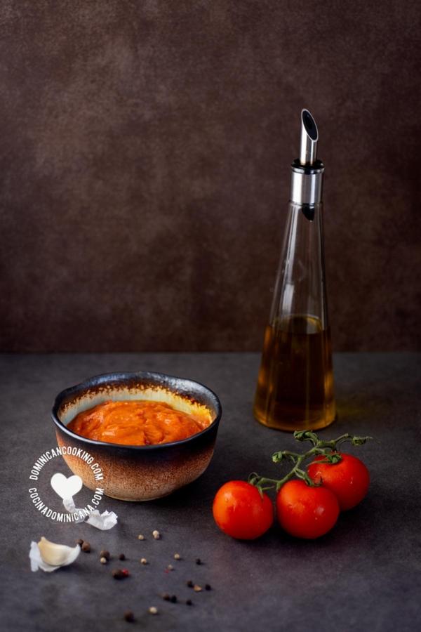 Tomates y salsa de tomate
