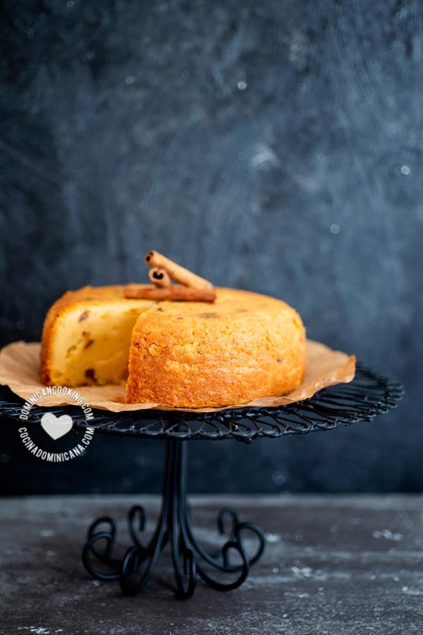 torta dominicana de maiz