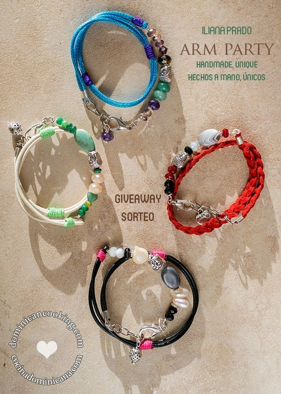 Giveaway: Arm Party by Iliana Prado