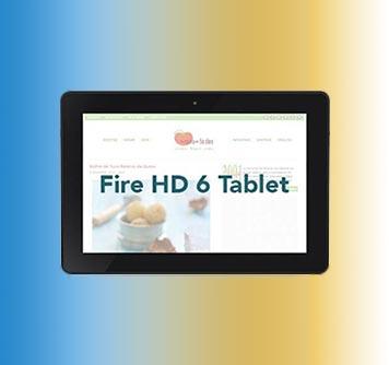 Sorteo: Tableta Kindle Fire HD 6