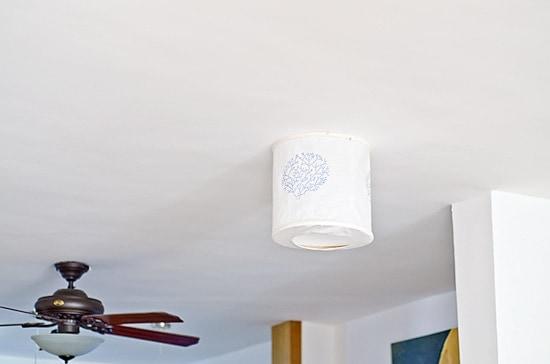 Lámpara de Techo Manualidad