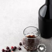 Guavaberry bebida y frutas
