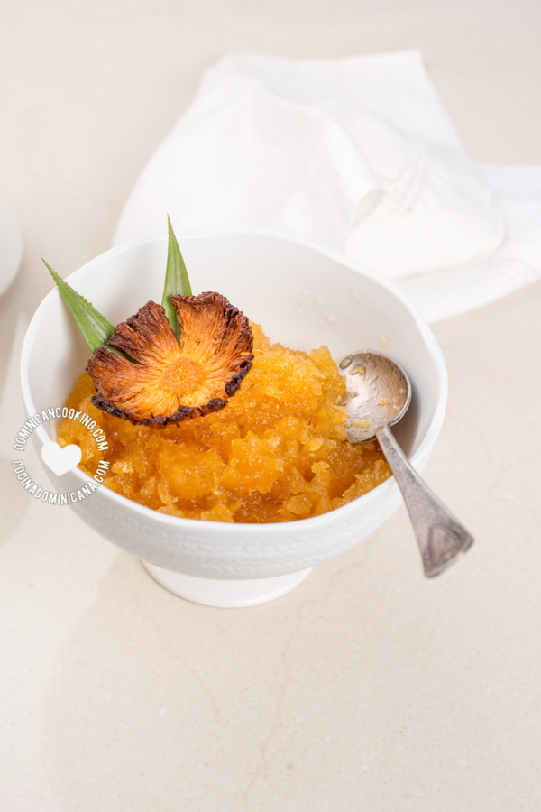 receta relleno bizcocho dominicano