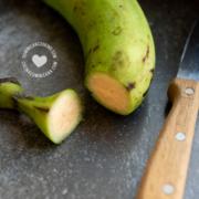 plátano verde