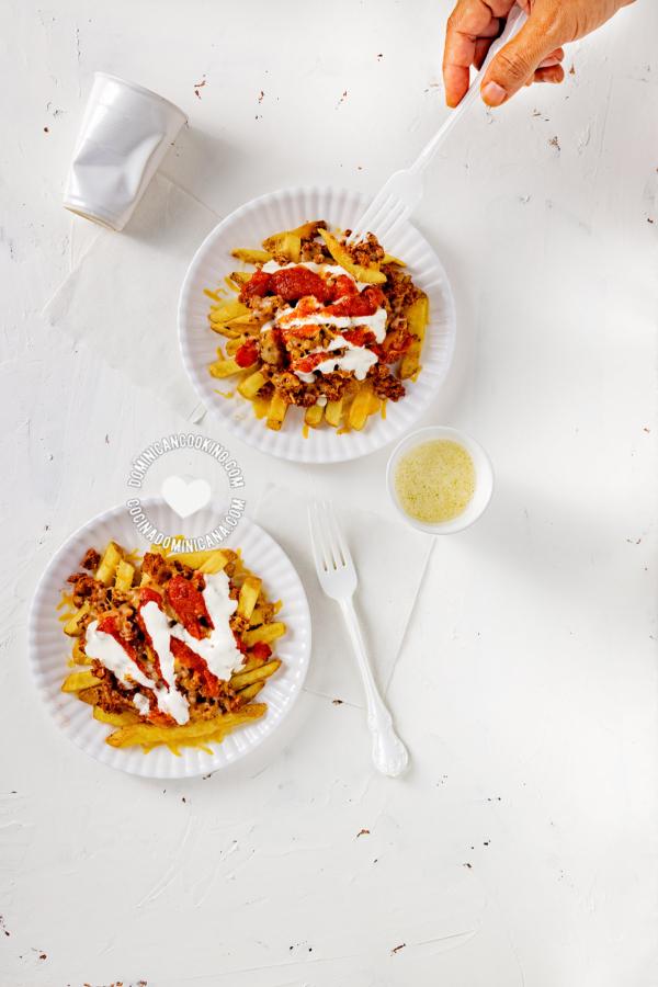 2 platos de yaroa mixta