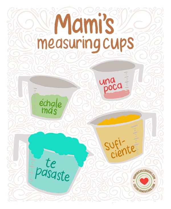 Mami's measuring cups