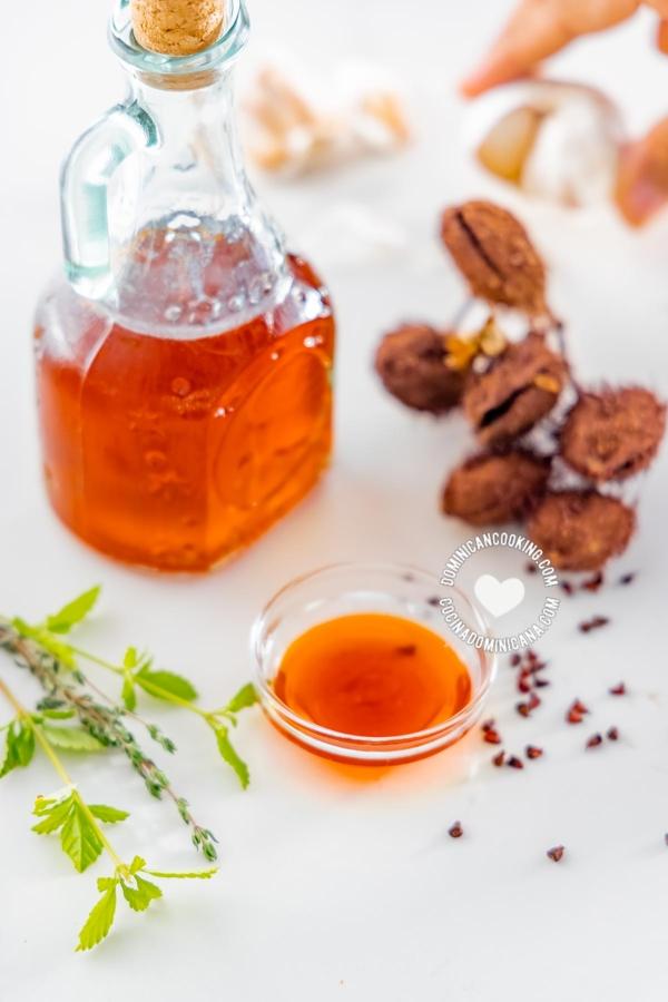 Aceite de Bija (Anato) and Ingredients