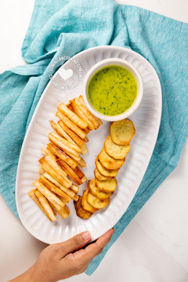 Batata y Yuca Fritas